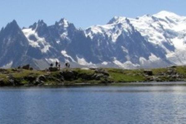 Trek sur le mont blanc