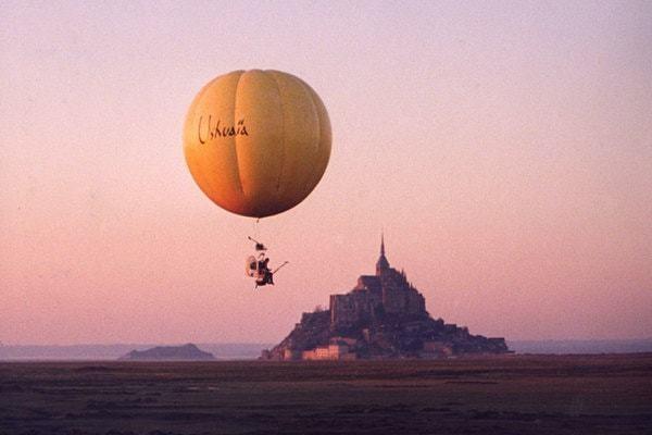 Le survol alchimique du Mont Saint Michel