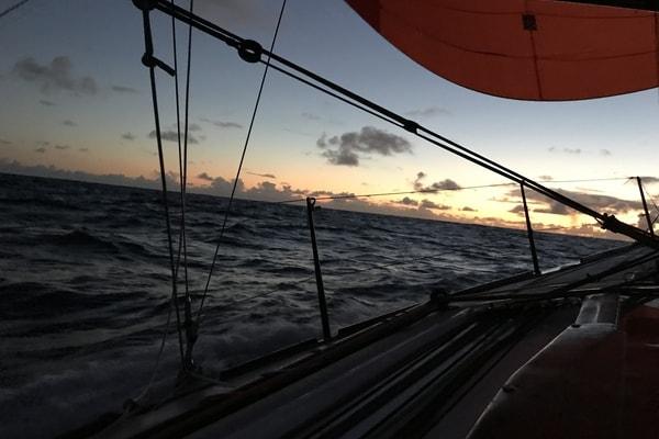 La nuit en mer