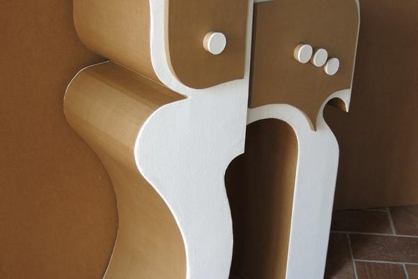 Fabrication d'un meuble en carton