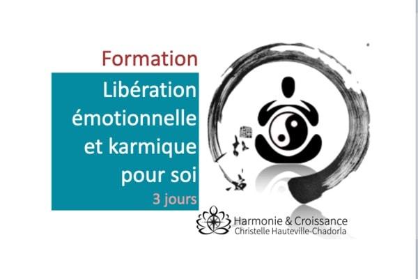 """Stage """"Libération émotionnelle et karmique pour soi"""""""
